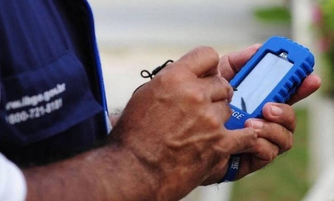 Pesquisador do IBGE: órgão foi autorizado a contratar profissionais temporários para trabalhar a partir de 2021 Foto: Arquivo
