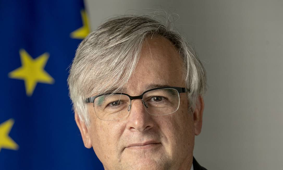 Embaixador da UE no Brasil, Ignacio Ybañez Rubio, diz que empresas brasileiras e do exterior têm cobrado do país compromisso com a sustentabilidade Foto: Zucchi Enzo / Divulgação
