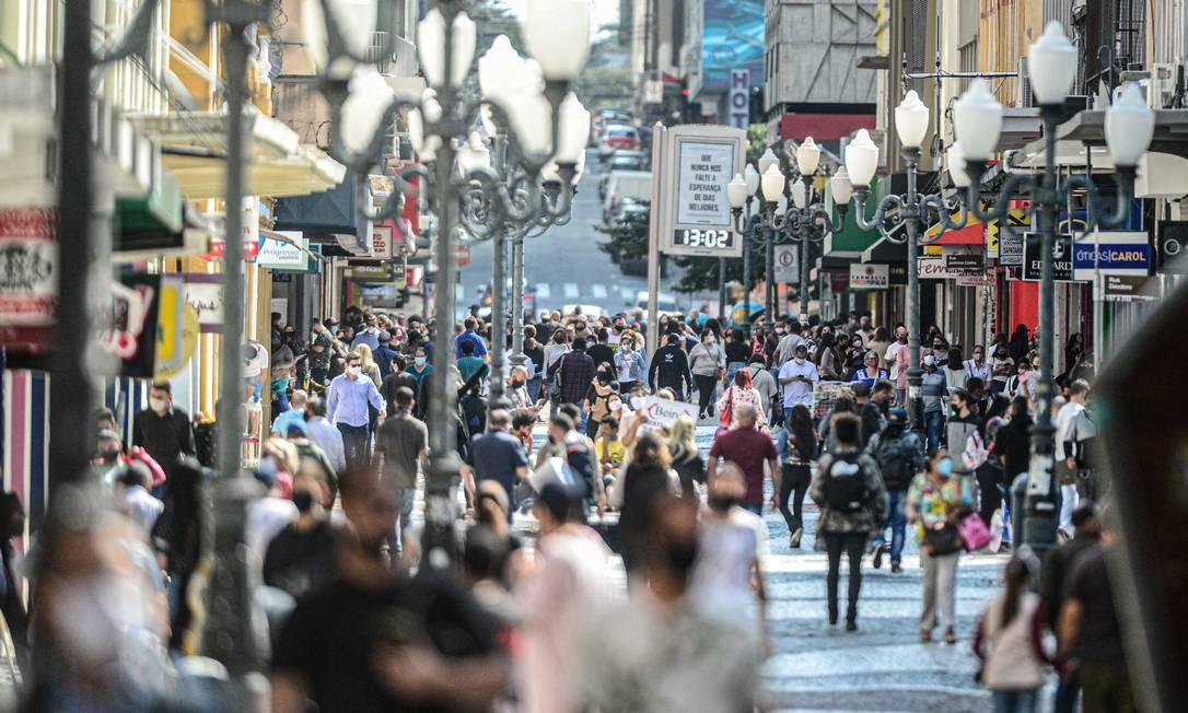 Desemprego recorde: Atualmente,74,4 milhões de pessoasestão fora da força de trabalho Foto: iShoot / Agência O Globo