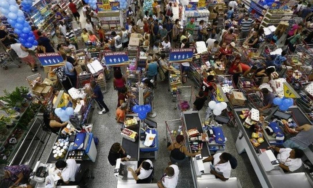 Aniversário Guanabara: Evento tradicional gerava aglomeração Foto: Pablo Jacob/Agência O Globo