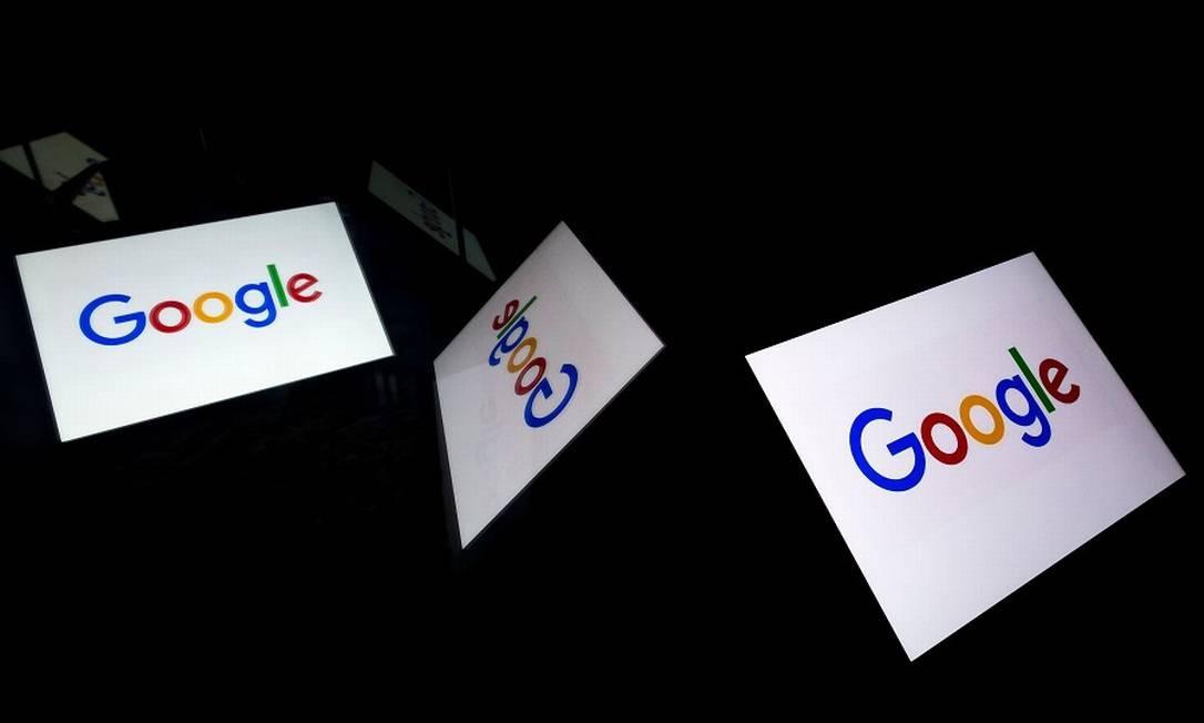Google: onipresente em quase todos os serviços web. Foto: LIONEL BONAVENTURE / AFP