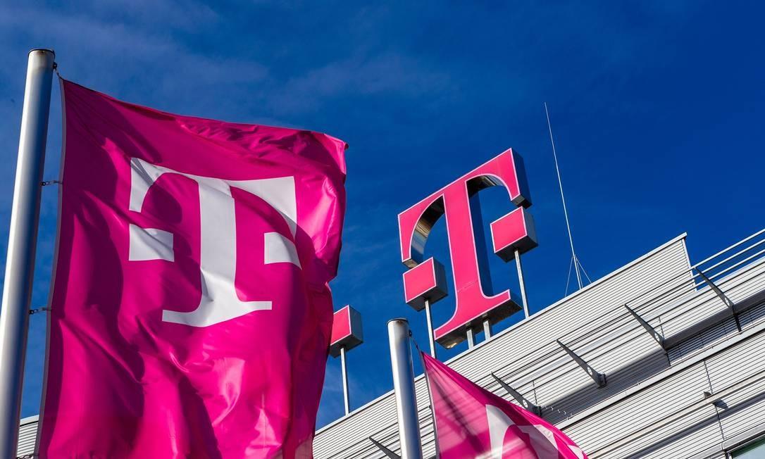 A Deutsche Telekom,empresa de telecomunicações alemã, levantou pouco mais de US$ 13 bilhões em novembro de 1996. Em março de 2020, a empresa tinha 184 milhões de clientes móveis, 27,5 milhões de linhas de rede fixa e mais de 21 milhões de linhas de banda larga Foto: Reprodução