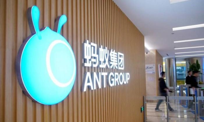 Ant Group, o braço financeiro do Alibaba, teve alta procura de investidores Foto: Reuters