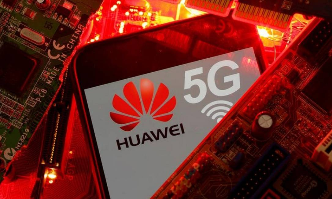 Empresas do setor de telecomunicações que atuam no Brasil afirmam que infraestrutura de redes pesa a favor da Huawei no leilão de 5G Foto: Reuters