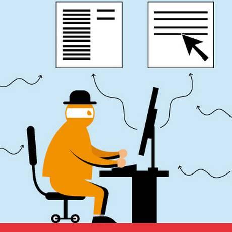 Los píxeles están presentes en las aplicaciones de las instituciones financieras.  El usuario no debe hacer clic en enlaces que provienen de mensajes de texto Foto: Arte O Globo