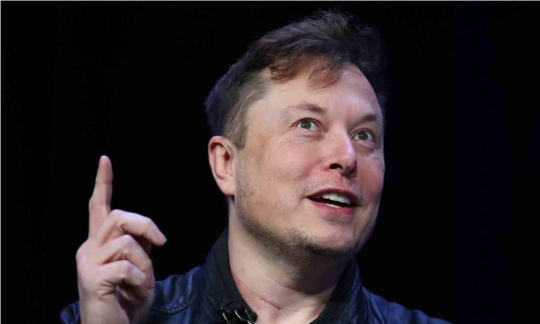 Elon Musk, cofundador da Tesla, teve a fortuna aumentada US$ 5,1 bilhões desde janeiro Foto: Bloomberg