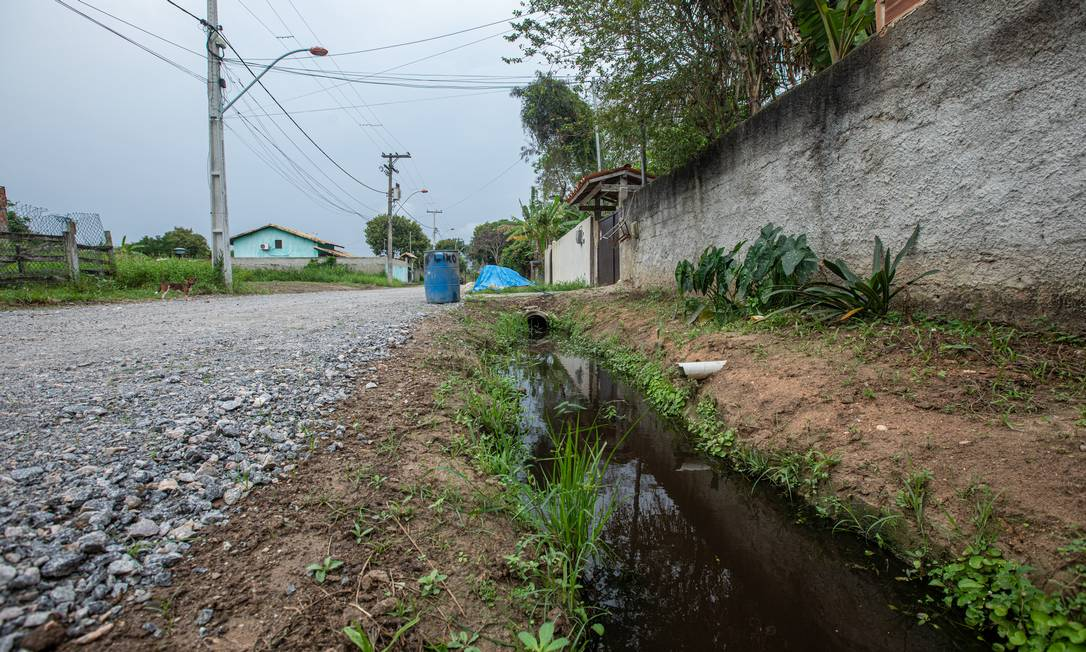 Falta de saneamento básico: novo marco legal busca universalizar acesso a serviços Foto: Brenno Carvalho / Agência O Globo