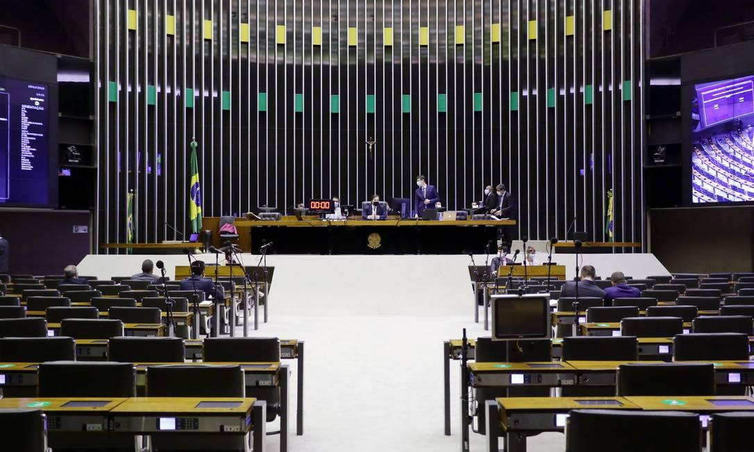 Plenário da Câmara dos Deputados Foto: Michel Jesus / Câmara dos Deputados