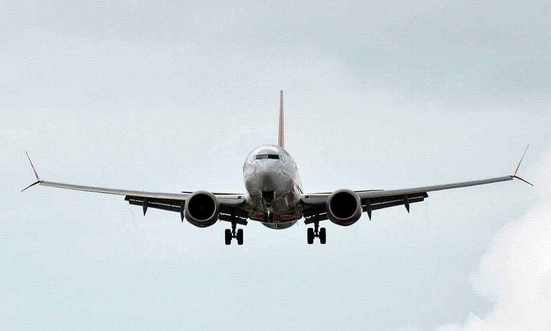 Boeing 737 Max faz primeiro voo nos EUA depois de dois anos Foto: SILVIO AVILA / AFP