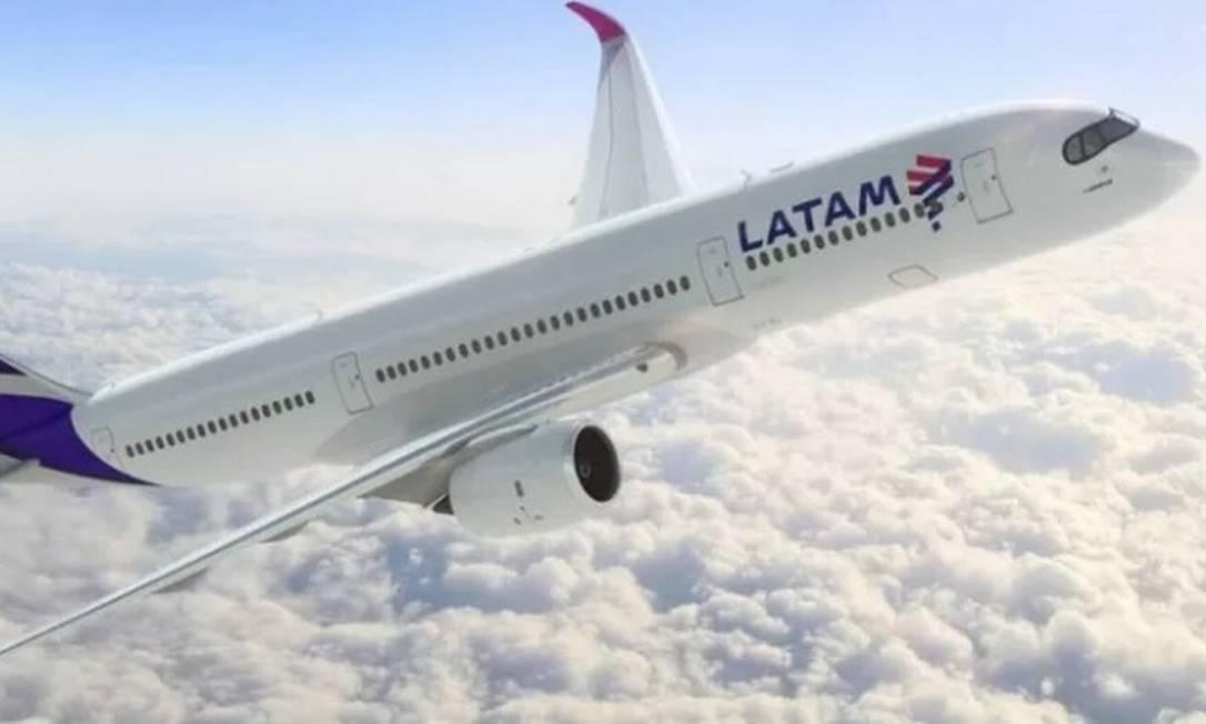 Latam Airlines solicita prorrogação do prazo para entrega do plano de reestruturação Foto: Divulgação
