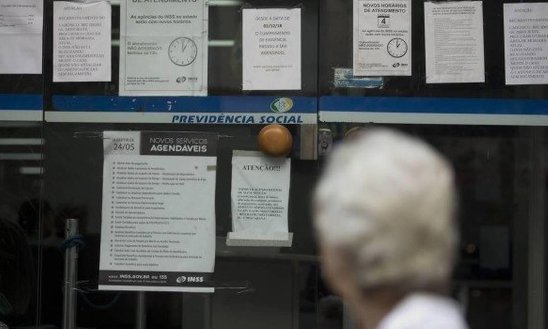 Dívida não poderá ser descontada da pensão por morte Foto: Márcia Foletto/Agência O Globo