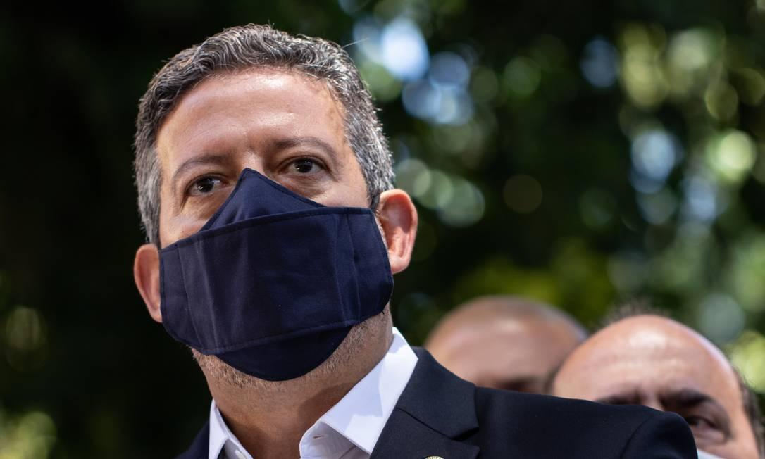 Deputado federal Arthur Lira (PP-AL), candidato à presidência da Câmara dos Deputados Foto: Agência O Globo