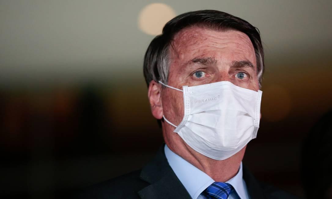 """Bolsonaro diz que pandemia não prejudica 'longo prazo"""" da economia brasileira. Foto: AFP"""