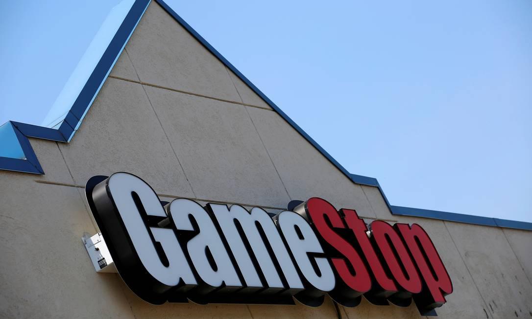 Desde o começo de janeiro, as ações da GameStop acumulam alta próxima de 700% e o valor de mercado da companhia ultrapassou a marca dos US$ 10 bilhões Foto: Jim Young / Reuters