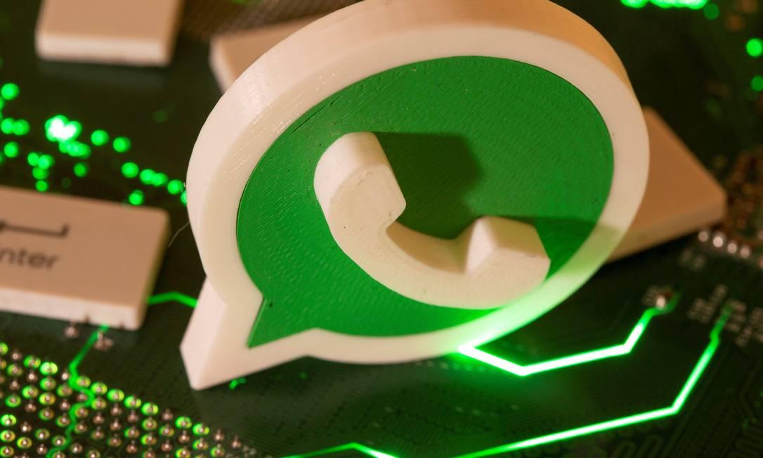 WhatsApp: especialistas temem que transferência de recursos dê margem a novos golpes pelo app Foto: Dado Ruvic / Reuters