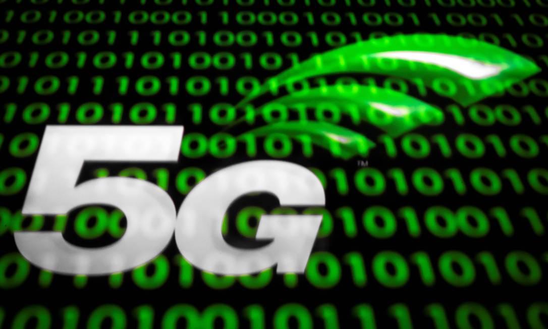 Leilão do 5G deve movimentar R$ 44 bilhões, diz Anatel Foto: Lionel Bonaventure / AFP