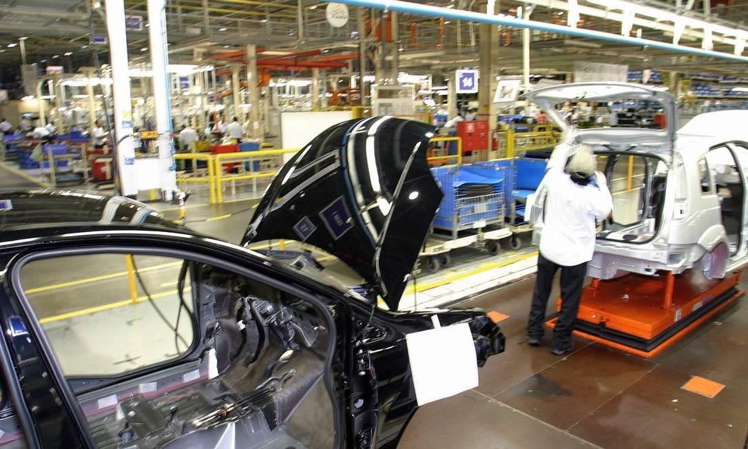 Fabrica da Ford em Camaçari - Bahia Foto: Agência O Globo