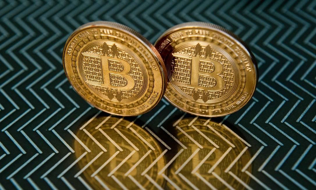 Bitcoin atinge valor recorde Foto: KAREN BLEIER / AFP