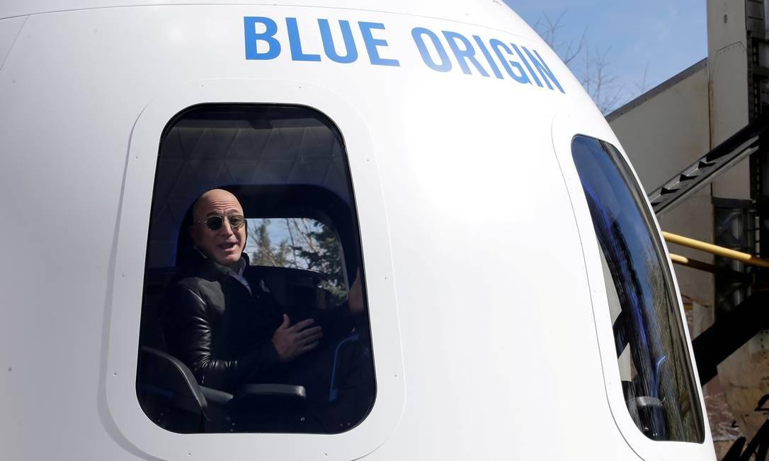 A Blue Origin perdeu para a empresa espacial de Musk e para a United Launch Alliance (ULA) bilhões de dólares em contratos de lançamentos espaciais do governo dos Estados Unidos Foto: Isaiah Downing / REUTERS