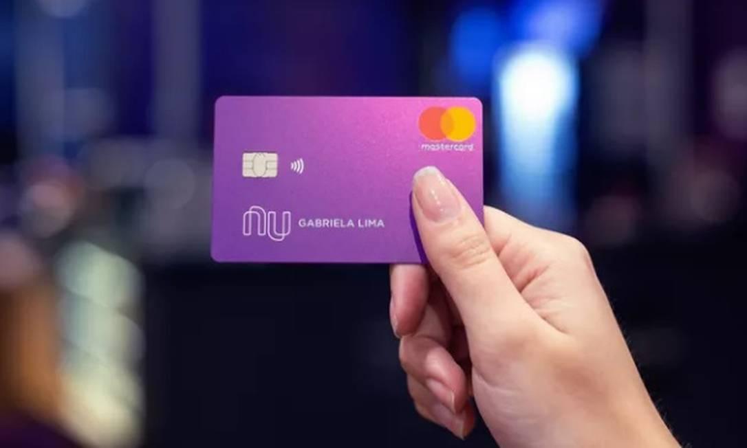 Nubank captou US$ 400 milhões e mais US$ 750 milhões em junho. Está avaliado em US$ 30 bilhões Foto: Divulgação