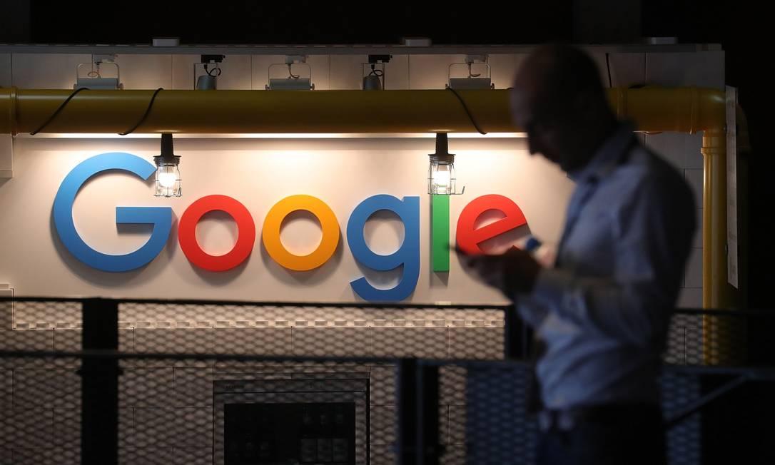 Dona do Google supera estimativa trimestral de vendas com aumento dos gastos em publicidade Foto: Krisztian Bocsi / Bloomberg