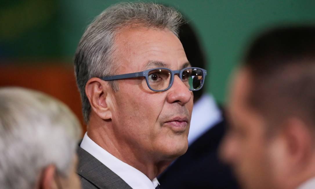 Bento Albuquerque nega militarização nas estatais e defende a indicação do general Joaquim Silva e Luna para o comando da Petrobras Foto: Ueslei Marcelino / Reuters