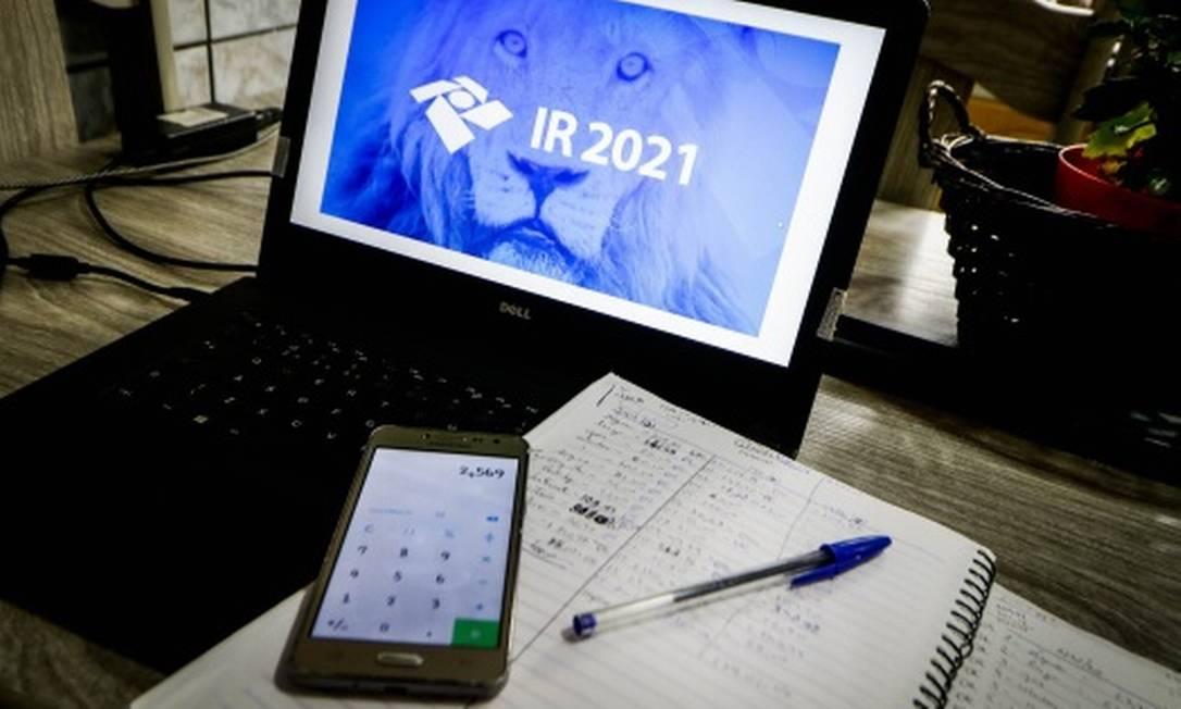 IR 2021: Entrega da declaração anual já começou Foto: FotoArena/Agência O Globo