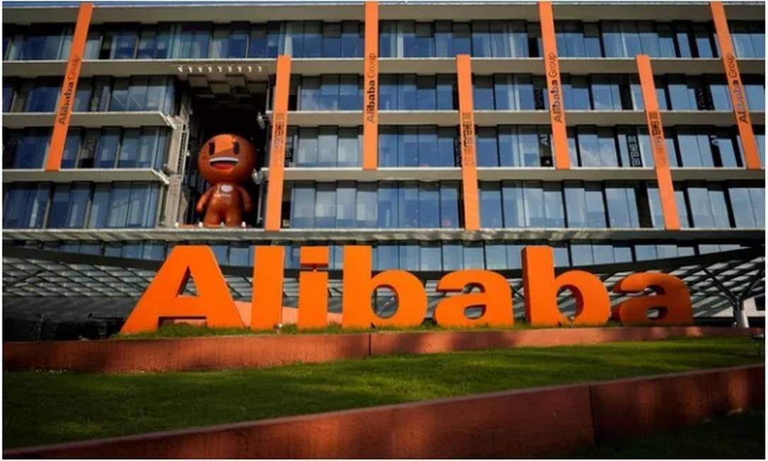 Multa equivale a cerca de 12% do lucro líquido do exercício fiscal de 2020 do Alibaba Foto: Reuters