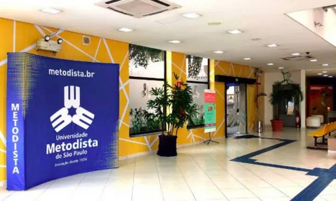 Grupo Metodista, que tem sede em São Bernardo do Campo (SP) Foto: Divulgação