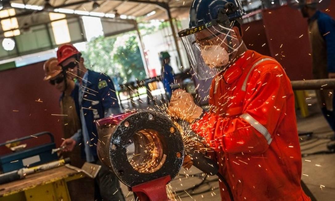 Venda da Heftos, empresa que faz manutenção de plataformas de petróleo, é o principal ponto da proposta da UTC de aditivo a seu plano de recuperação judicial. Foto: Reprodução/Site da Heftos