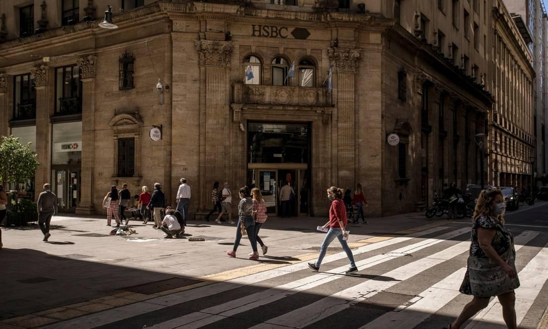 Arrecadação de impostos sobre grandes fortunas da Argentina ficou abaixo do esperado Foto: Sarah Pabst / Bloomberg