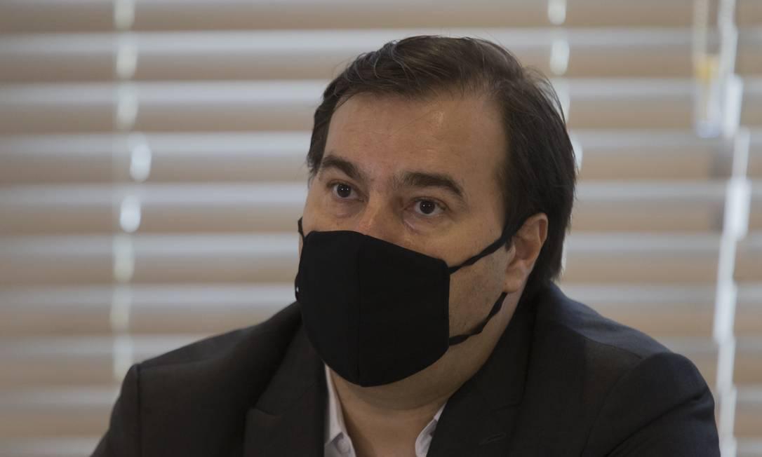 Rodrigo Maia: deputado federal pelo DEM-RJ e ex-presidente da Câmara Foto: Edilson Dantas / Agência O Globo