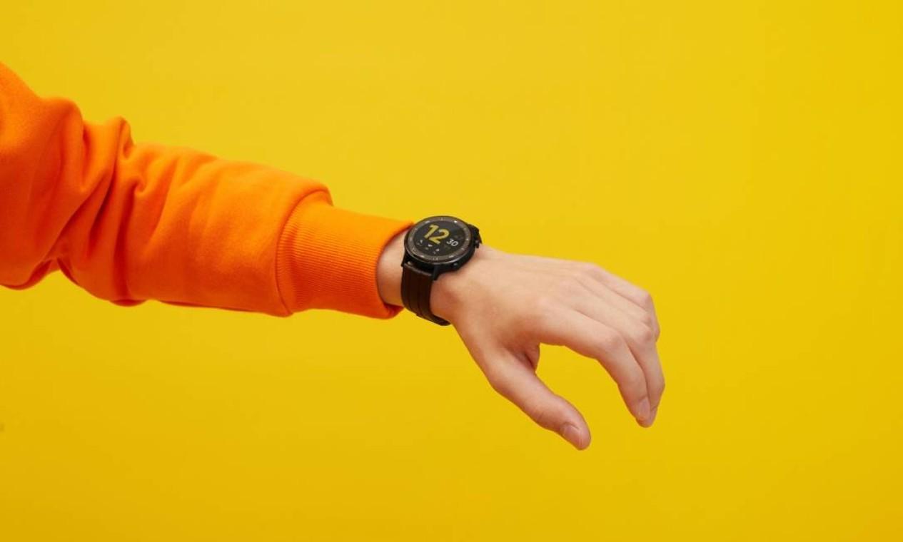 A Realme lança relógio conectado (chamado Watch S) no Brasil a partir de R$ 699 Foto: Divulgação