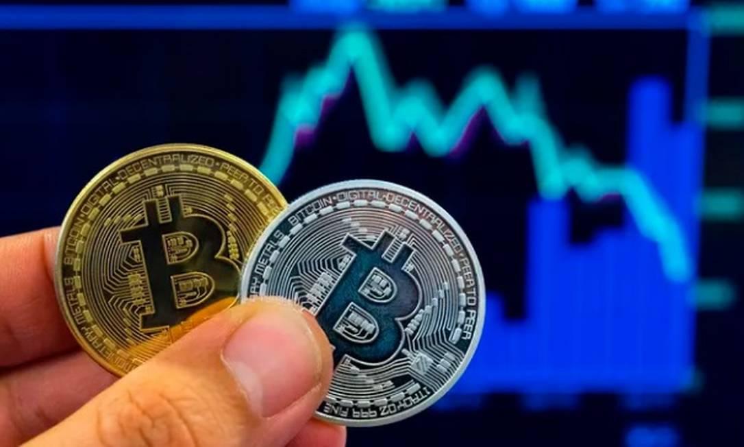 Bitcooin: queda vertiginosa Foto: AFP