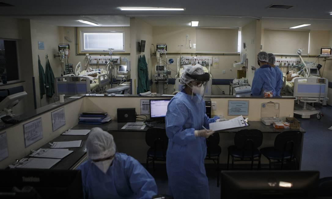 Mudança de cenário. Com a pandemia, em 2020 consumidores usaram menos os planos de saúde para procedimentos eletivos, como consultas e cirurgias Foto: Alexandre Cassiano 22/04/2020 / Agência O Globo