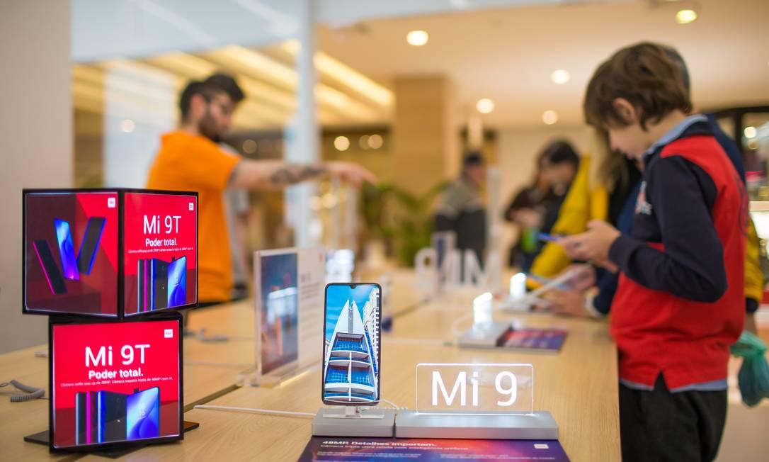 EUA retiram a Xiaomi de 'lista negra' de empresas ligadas ao Partido Comunista Chinês Foto: Edilson Dantas / Agência O Globo