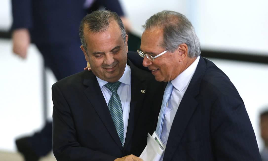 Orçamento paralelo afasta mais Guedes e Marinho Foto: Jorge William / Agência O Globo