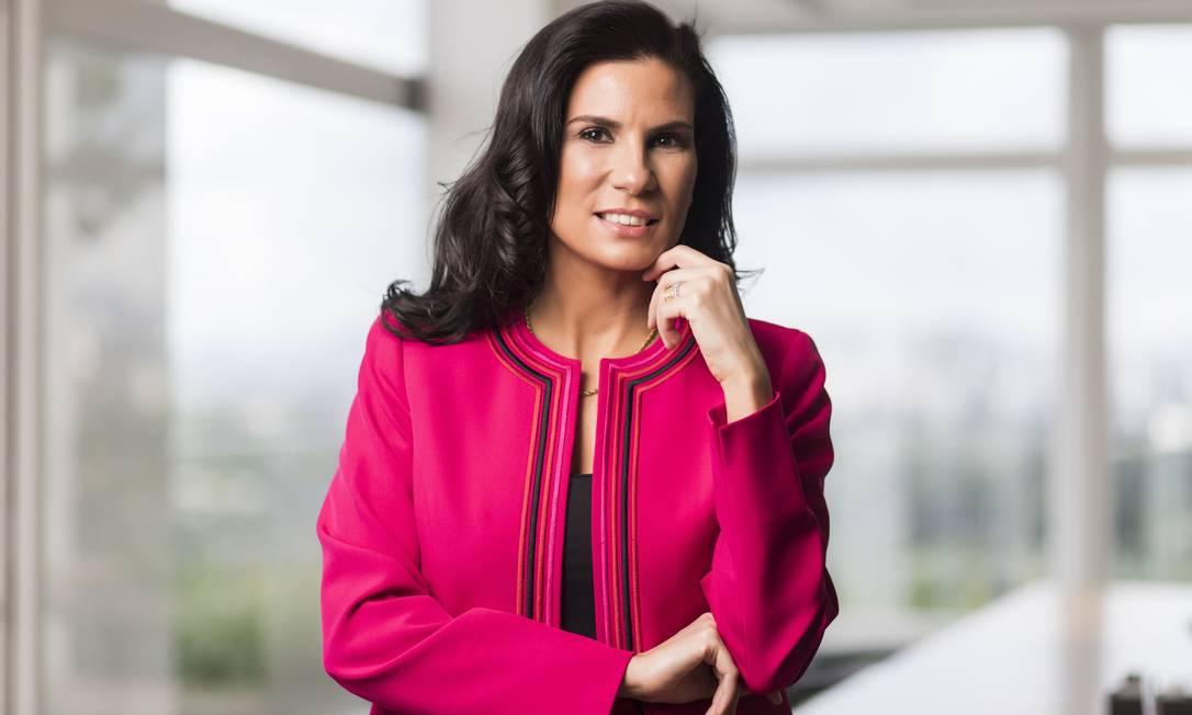 Olga Pontes, chefe de compliance da Novonor, ex-Odebrecht Foto: Ale Borges / Divulgação