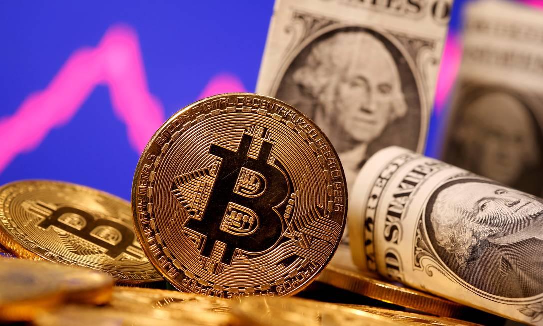 Kyle Davies e Su Zhu, da Three Arrows Capital, minimizam queda recente do bitcoin Foto: Dado Ruvic / Reuters