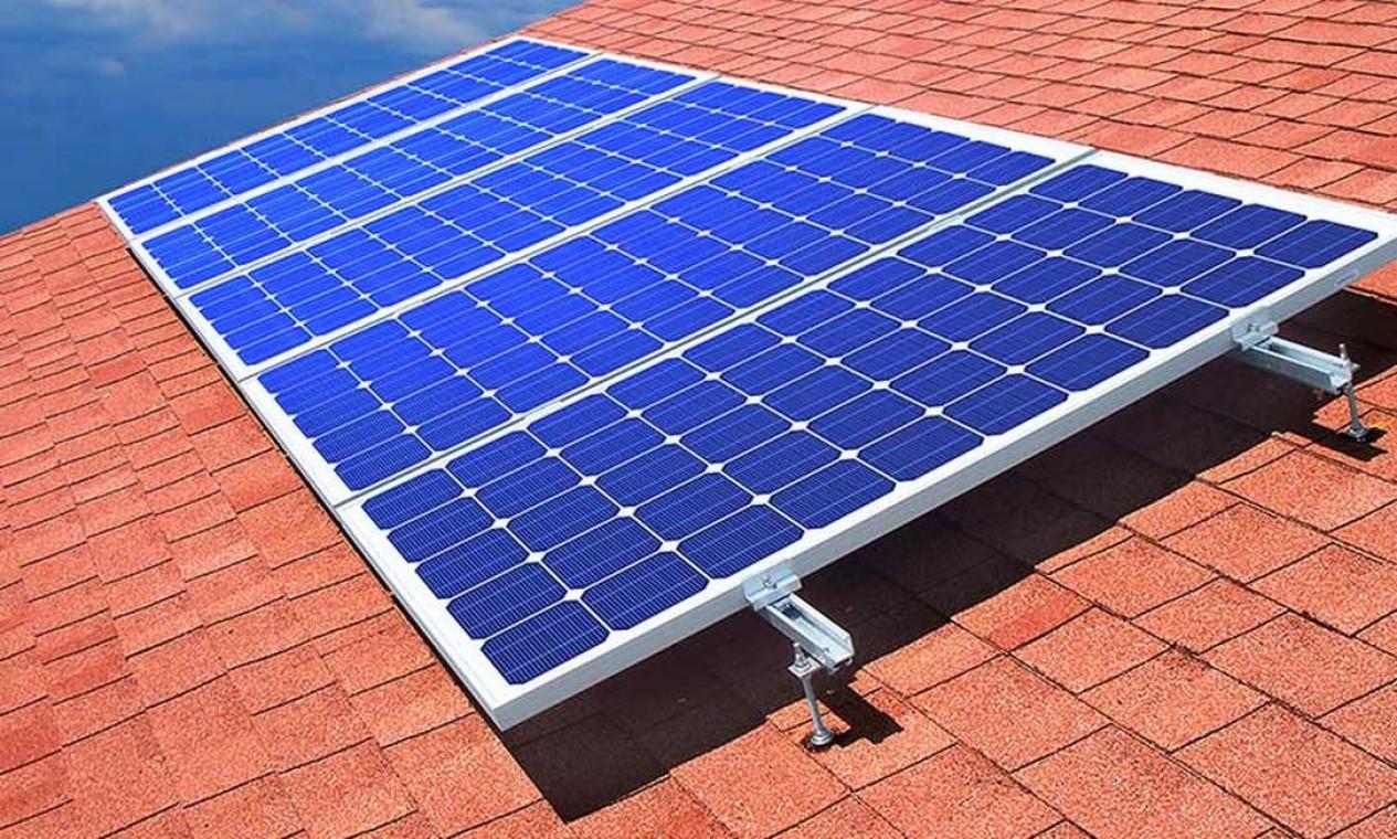 O uso massivo de energia solar no país, que até pouco tempo atrás parecia uma coisa improvável, está avançando rapidamente Foto: Divulgação