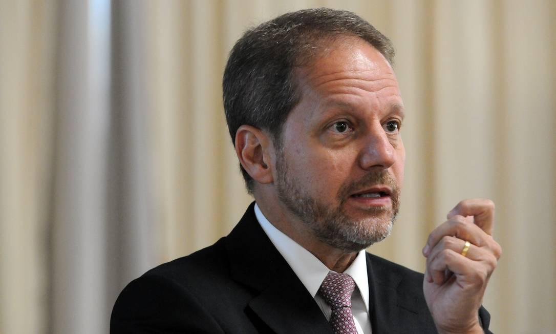 O presidente da Previ, José Mauricio Coelho, que pediu renúncia na terça Foto: Leo Pinheiro / Valor/18-3-2019