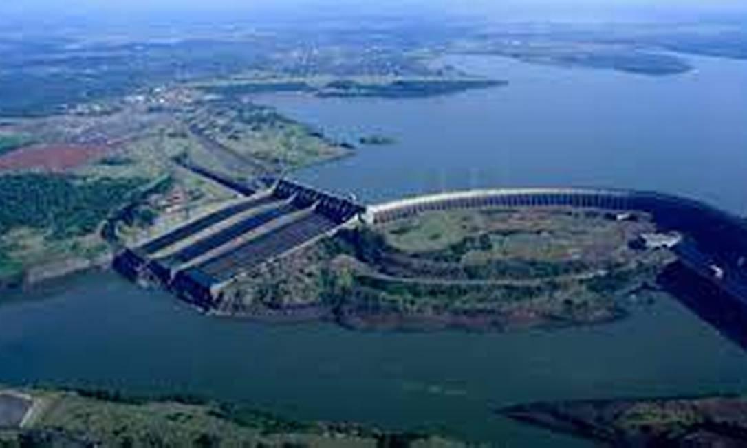 Bacia hidrográfica do Paraná Foto: Reprodução