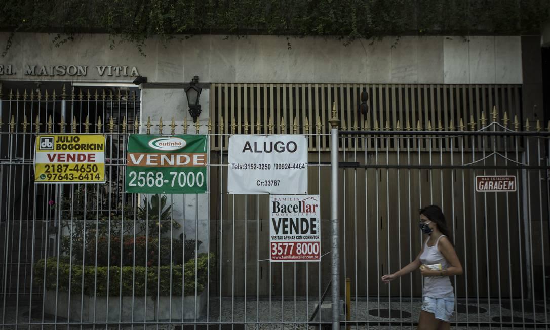 Câmara aprova projeto que impede ordens de despejo até o fim do ano Foto: Guito Moreto / Agência O Globo