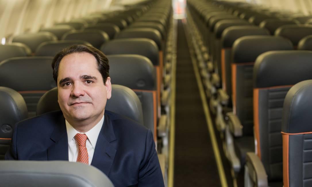 Eduardo Bernardes, vice-presidente Comercial da Gol,diz que foco agora é manter a sustentabilidade da empresa Foto: Divulgação
