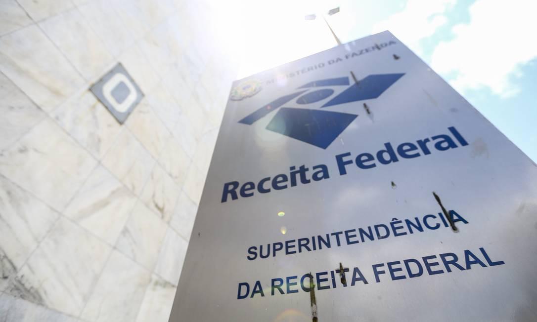 Receita Federal divulga dados da arrecadação de junho Foto: Marcelo Camargo/Agência Brasil / Agência O Globo