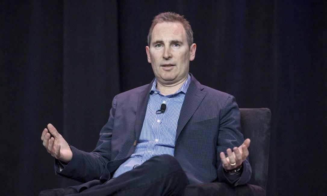 Andy Jassy irá suceder Jeff Bezos como CEO da Amazon na próxima segunda-feira, dia 5 Foto: Bloomberg