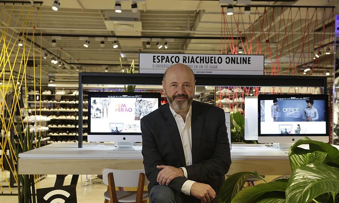 Elio Silva, Diretor Executivo de Canais e Marketing da Riachuelo. Marca entrou no mercado de live shopping no ano passado Foto: Divulgação