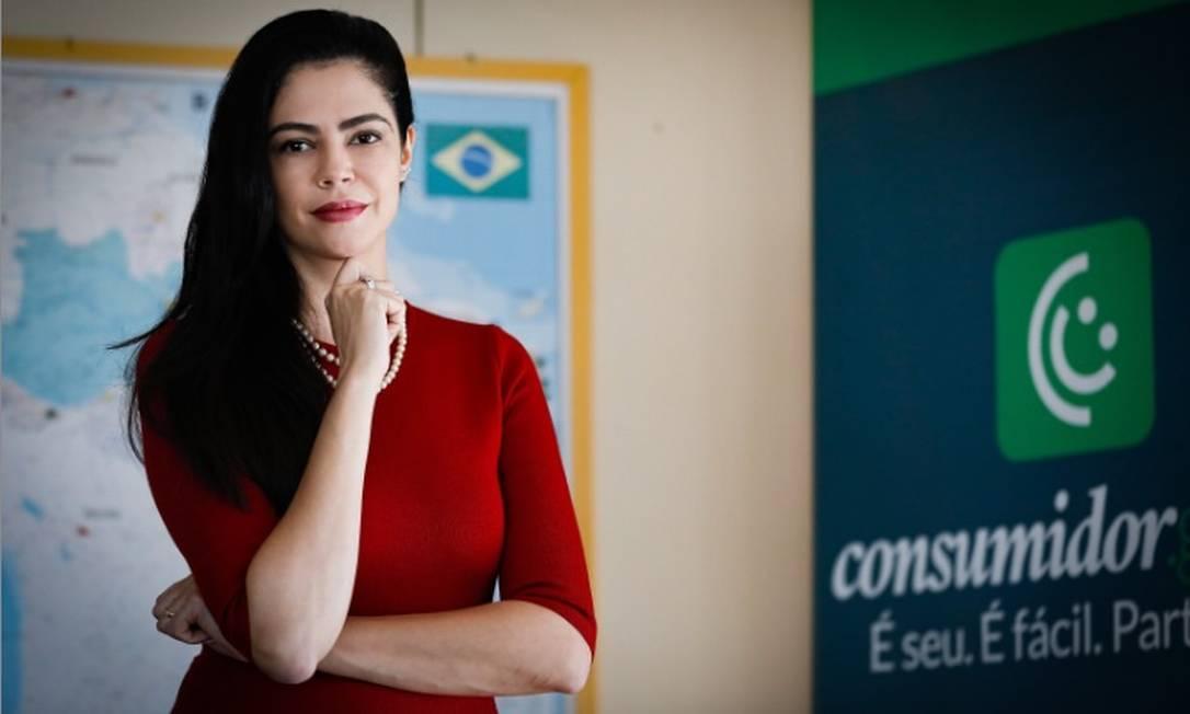 Alvo de críticas: A secretária nacional do Consumidor, Juliana Domingues, diz que não houve retrocessode de direitos Foto: Pabvlo Jacob/Agência O Globo