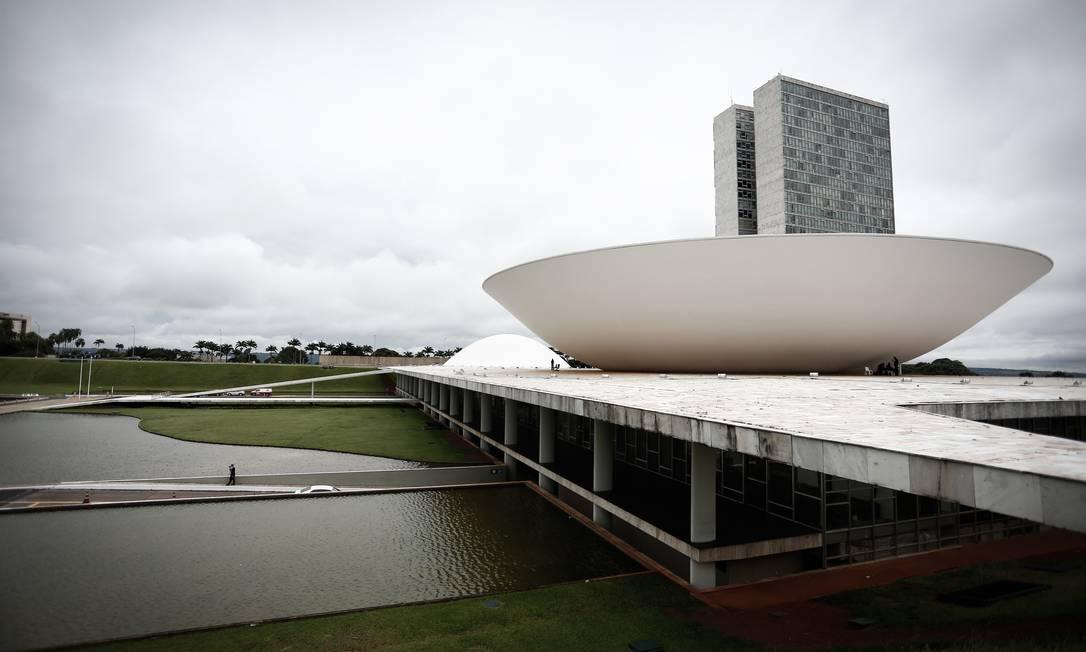 Congresso Nacional, em Brasília. Reforma do IR está em discussão na Câmara Foto: Pablo Jacob / Agência O Globo