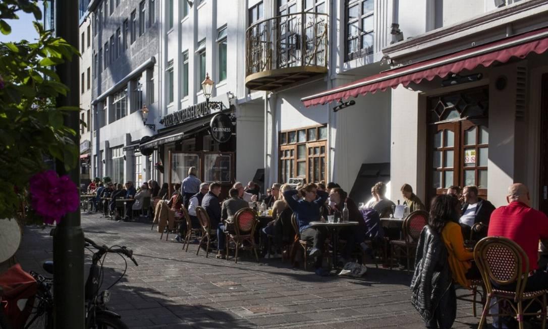 Com redução das horas de trabalho, islandeses estão conseguindo um melhor equilíbrio entre vida pessoal e profissional Foto: Bloomberg